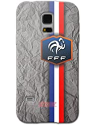 URCOVER Coque Equipe de France pour Samsung Galaxy S5 | Championnat d? Europe Spécial UEFA EURO 2016 | Coque Sportif Footbal Cover Housse Étui Drapeau National