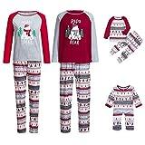 Weihnachten Familie Pyjamas Outfit Schlafanzug Nachtwäsche Damen Herren  Baby Säugling Family Kleidung Zuhause Matching set Xmas 975a134cbe