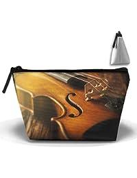 rptmub Stradivarius violín caso accesorios bolsa de almacenamiento portátil Organizador Bolsa de cosméticos neceser práctica bolsa