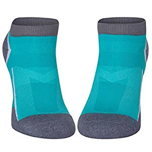 Calcetines de Running Low-Cut Pro Azul Caribeño