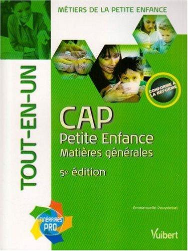 CAP petite enfance tout-en-un PDF