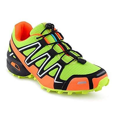 Herren Damen Sneaker Sportschuhe Lauf Freizeit Neon Runners Fitness Low Unisex Schuhe