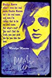 Marilyn Manson Kunstdruck (mit signierter Autogramm Nachbildung) Hochglanz Poster - Größe: 12 x 8 Inches (30x20cm)