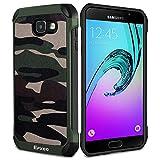 Coque Samsung Galaxy A3 2016, Epxee Silicone [Anti Choc] Protection Etui Housse pour Samsung Galaxy A3 2016 (Camo-001)