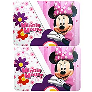 Disney Minnie Mouse Plastic Placemat Set [2-Per Pack]