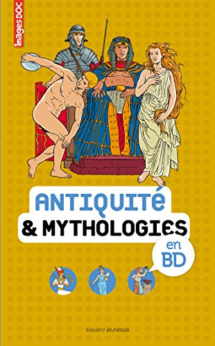 Antiquité & mythologies en BD: Images Doc