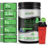 Naturyz Instantized BCAA Energy Blast with 7000 BCAA, Glutamine, Citrulline & Beta Alanine