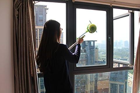 Lave Vitre Magnetique - Zuwit télescopique Window Cleaner Double face verre