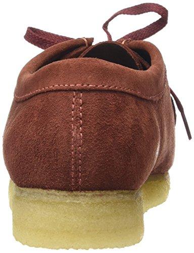 Moccasins Terracotta Herren Originals Rot Clarks Wallabee wBtqTS