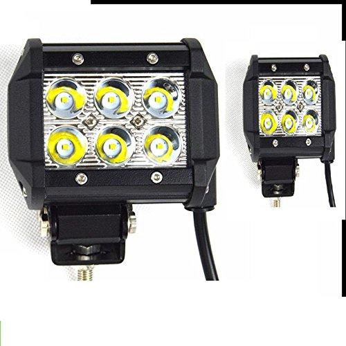 KDLD 18W barre de lampe de travail LED feux hors route modifiés GM 2PCS