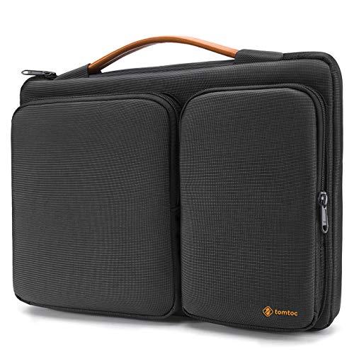 """tomtoc 13-13.5 Pouces Sacoche Housse Ordinateur Portable Compatible avec 13.3"""" Vieux MacBook Air, 13"""" MacBook Pro Retina, 12,9"""" iPad Pro, 13.5"""" Surface Laptop, Noir"""