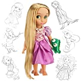 Disney Tangled Rapunzel officiel 38cm Animator Toddler Doll Avec des accessoires en Pascal