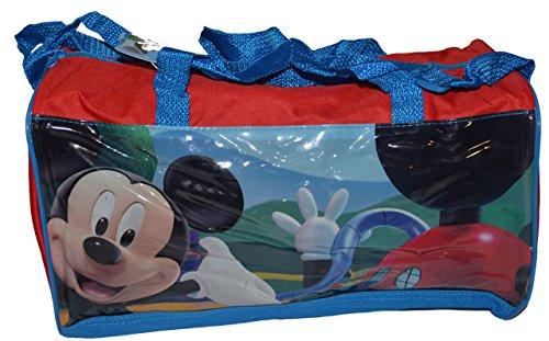 Niños Bolsa de deporte Disney bolsa de viaje bolsa F. Niños Aviones de ocio bolsa de 4variantes, Cars//Princess/Mickey Mouse + Minnie Ratón tamaño 37cm