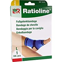 RATIOLINE active Fußgelenkbandage Gr.L 1 St preisvergleich bei billige-tabletten.eu