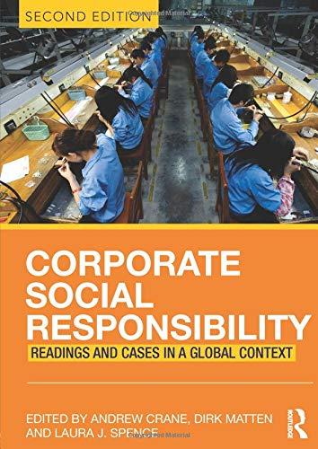 Corporate Social Responsibility -