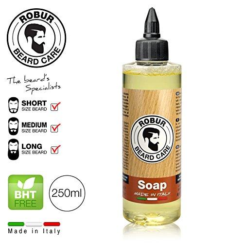 savon-liquide-detergent-doux-demelant-250ml-pour-lhygiene-quotidienne-de-la-barbe-et-la-moustache-de