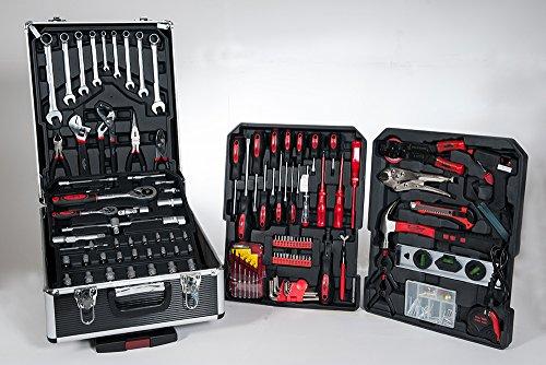 416Set Werkzeug Trolley Koffer Aluminium Werkzeugcontainer 5998–Kassette