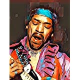 aluminium metal wall art Jimi H