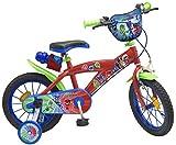 TOIMS pijmask Bicicletta Bambino, Bambini, Pijmask, Rosso
