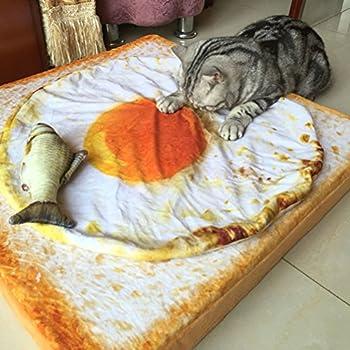 ueetek Animal Couverture pour chien chat animaux Oeuf geformte Quilt chiot chaton sommeil tapis de lit 60cm