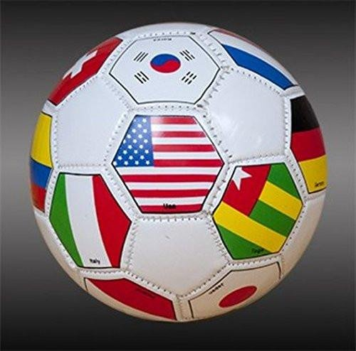 International FIFA Land Flaggen Fußball Gratis Bungee Ball Net, Flags Multy Colors, 5