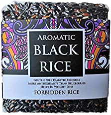 FOR8 Aromatic Black Rice - Forbidden Rice - 500g