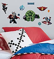 Marvel Comics The Avengers Assemble Wall Decals 18 x40