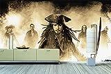 WandbilderXXL® Vlies Fototapete Jack Sparrow 300x200cm - hochwertige Tapete in 6 verschiedenen Größen für Wohnzimmer oder Büro - Foto Tapete - Qualität von Wandbilder XXL