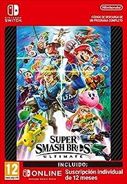 Super Smash Bros. Ultimate + 12 Meses Switch Online Limited Edition | Nintendo Switch - Código de descarga