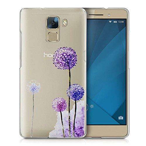 Preisvergleich Produktbild Huawei Honor 7 Handy Tasche, FoneExpert® Ultra dünn TPU Gel Hülle Transparent Silikon Case Cover Hüllen Schutzhülle für Huawei Honor 7 (Color 9)