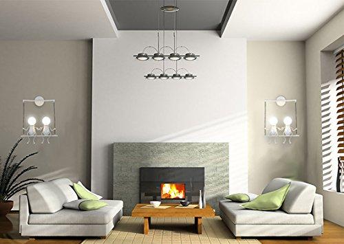 Koonting® lampada da parete e27 applique da parete interni design