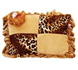 #8: Safe N Cute Baby Rectangular Pillow In Velvet (Brown)Age (0 To 8 Years)