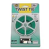 #4: Rural Mart Plastic Twist Tie Wire Spool with Cutter (50 Meter)