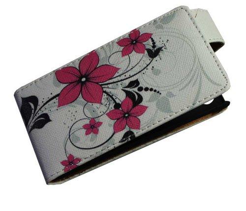 Handy Tasche Case Flip für Sony Xperia J / Handytasche Schutzhülle JS M16
