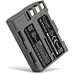 CELLONIC® Batterie Premium Compatible avec Nikon D50 D70s D80 D90 D200 D300 D300S (1600mAh) en-EL3,EN-EL3e Batterie de Rechange, Accu Remplacement