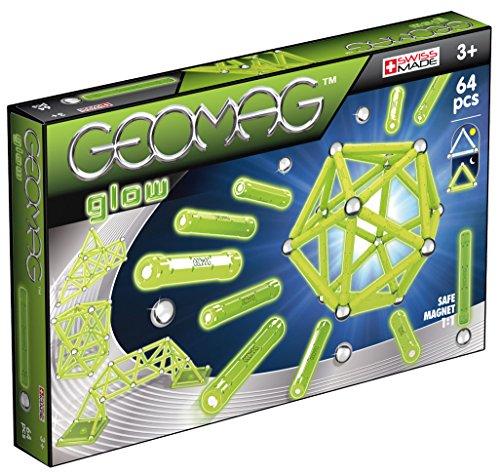 Geomag 336 - Glow, Baukästen, 64-teilig