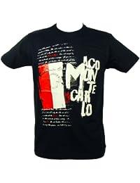 Souvenirs de France - T-Shirt Homme 'Monaco Côte d'Azur' - Couleur : Bleu