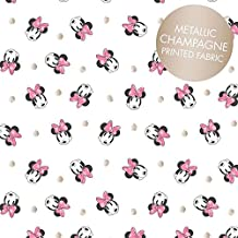 Minnie mouse tela–0,5Metre–cam145–Disney Minnie Mouse–por Camelot–100% algodón