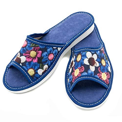 Absoft - Zapatillas Estar casa Sintético Mujer, Color