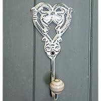 Rosalind heart design metal coat hook