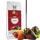 Dolcana Schokofrüchte - Papaya in weißer Schokolade