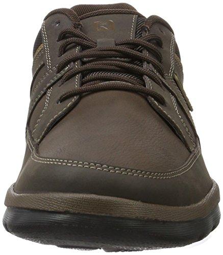 Rockport Gyk Blucher, Chaussures Homme Marron