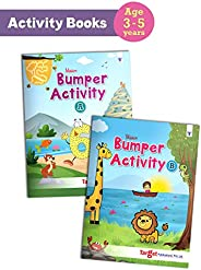 Blossom Bumper Activity Books for Kids in English | 3 to 5 Year Old Children | 110 Activities like Tracing, Co