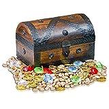 Brynnberg Scrigno del tesoro e pacchetto di decorazione scatole 24x16x16cm