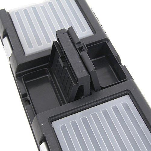 Kunststoff Werkzeugkoffer STUFF Semi Profi Alu 20″, 52,5×25,5cm Kasten Werzeugkiste Sortimentskasten Werkzeugkasten Anglerkoffer - 5