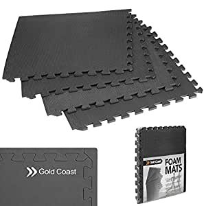 Gold Coast Interconnectables la protection de plancher EVA Tapis de sol pour gymnase & d'exercice