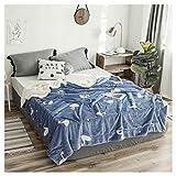 Decken Throw Dicke warme super weiche Flauschige gemütliche Swan Muster Nickerchen Sofa Bettdecken (größe : 150 * 200cm)