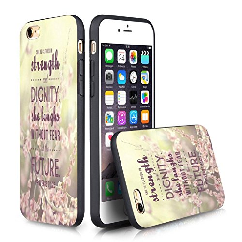Apple 6/6S Fall iPhone 6S (11,9cm) Schwarz Fall TPU- have Faith & Believe in Yourself, A00-4