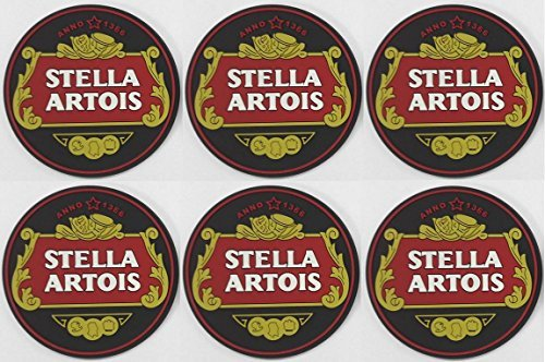 stella-artois-rubber-bar-coasters-spill-mats-set-of-6-new-by-stella-artois