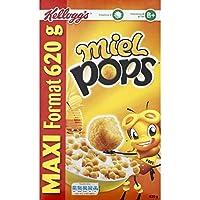 KELLOG S - Miel pops 620g. - Le paquet de 620g - Prix Unitaire - Livraison Gratuit Sous 3 Jours